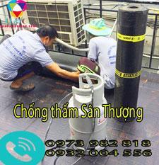 Thợ chống thấm sân thượng Đón tết Tại TPHCM
