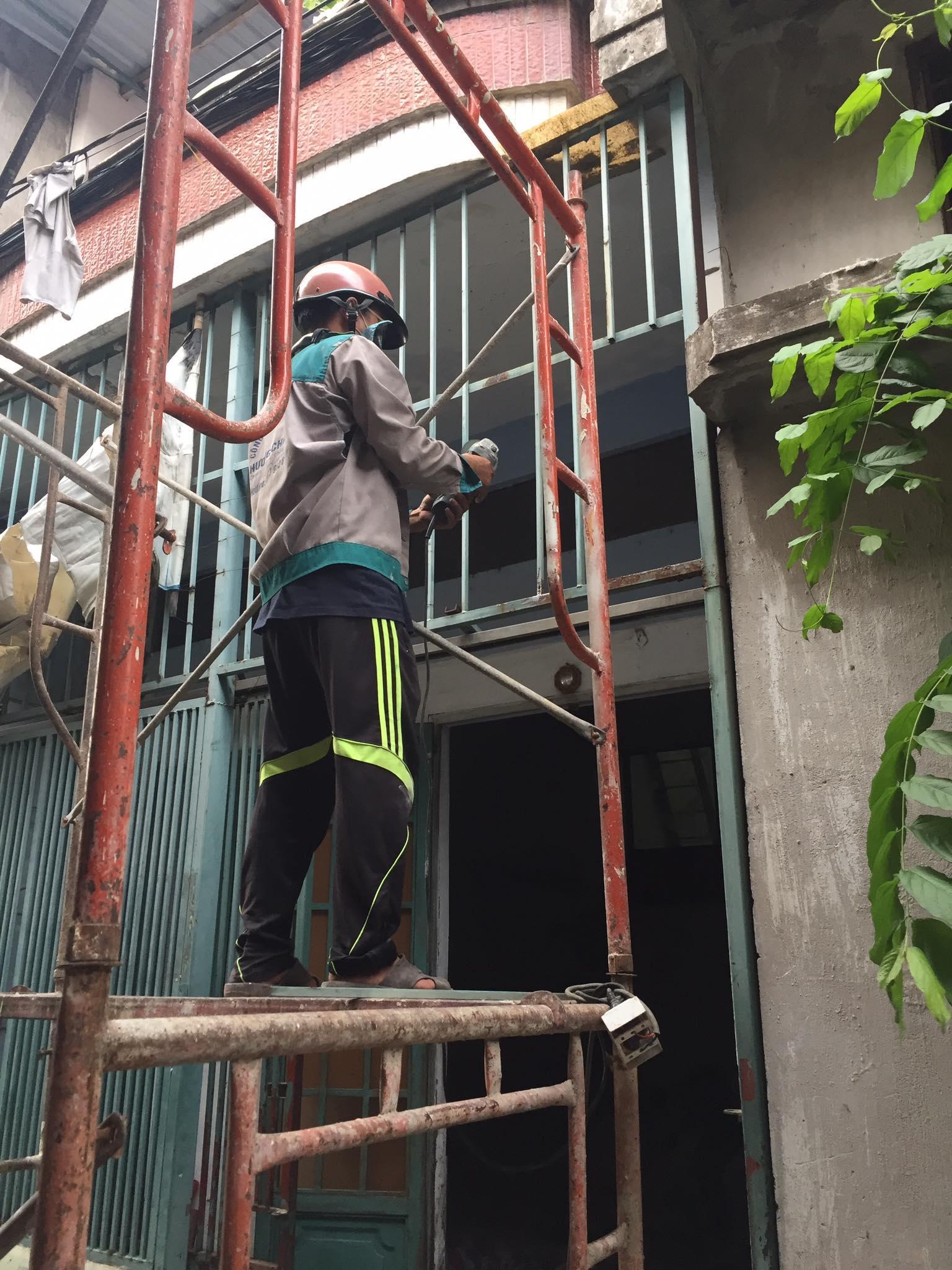 Dịch vụ sửa chữa nhà tại quận 12. Chuyên nghiệp